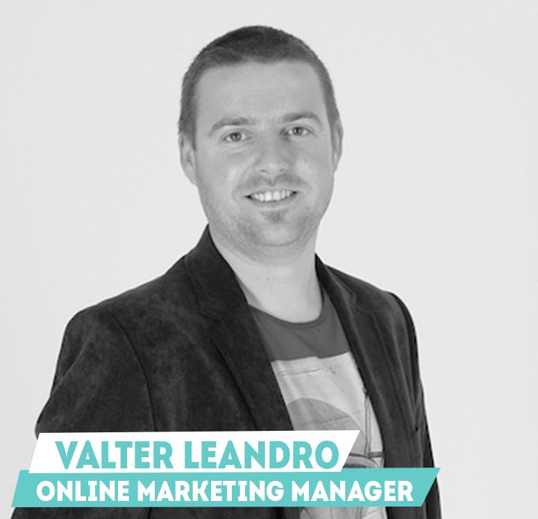 Valter Leandro - Online Marketing Manager
